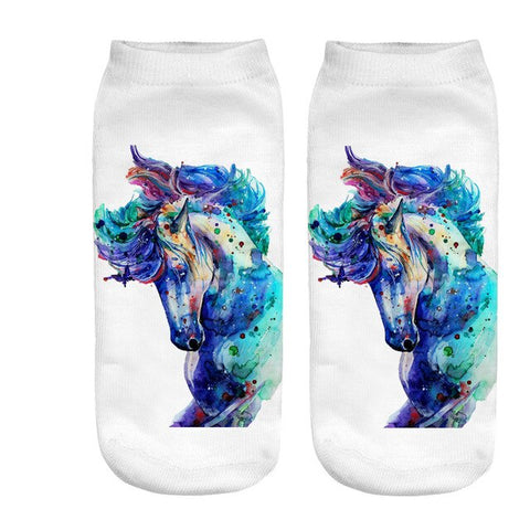 x3 Strong Unicorn Socks