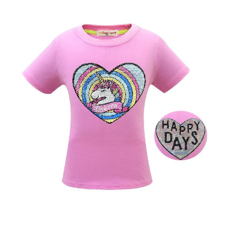 Happy Days Unicorn Tee Shirt