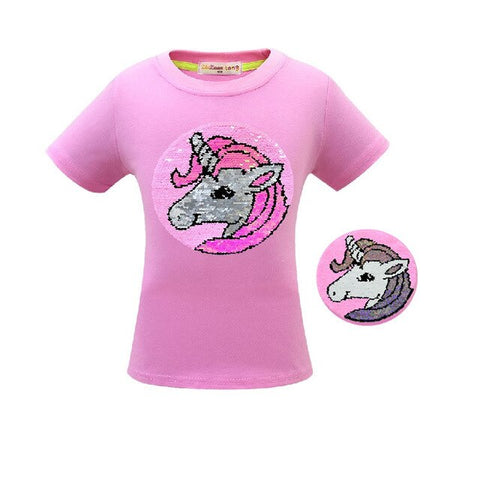 Glitter Unicorn Tee Shirt