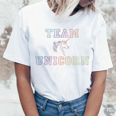 Team Unicorn T Shirt