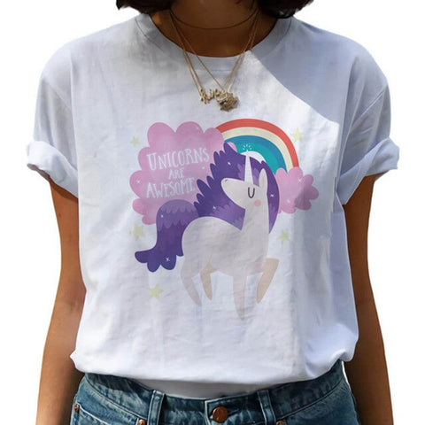 Unicorn Are Awesome T Shirt
