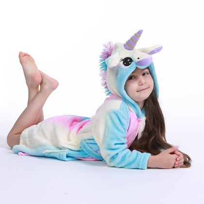 Unicorn Bathrobe Cute