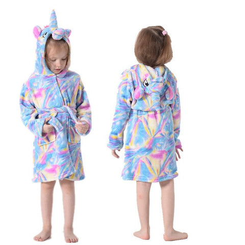 Rainbow Unicorn Bathrobe