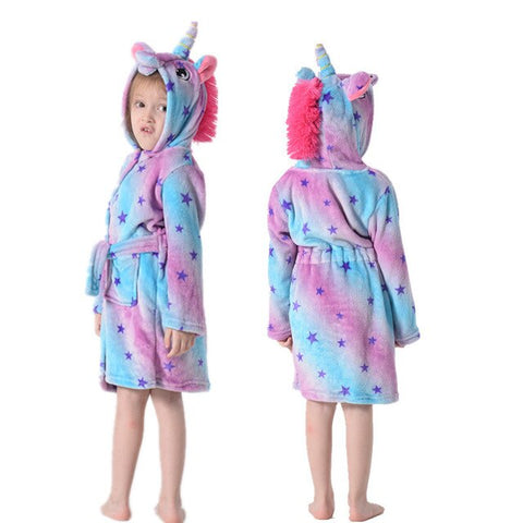 Star Unicorn Bathrobe Child