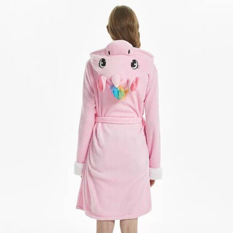 Pink Unicorn Bathrobe