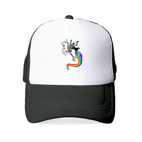 Unicorn Black Caps Women's