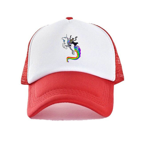 Unicorn Red Caps Women's