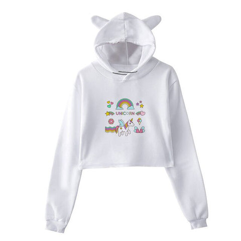 Classic Unicorn Hoodie Wommen's