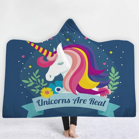 Unicorn Are Real Poncho