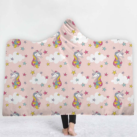Multi Unicorn Poncho
