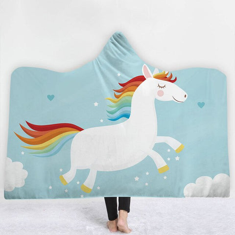 Drawing Unicorn Poncho