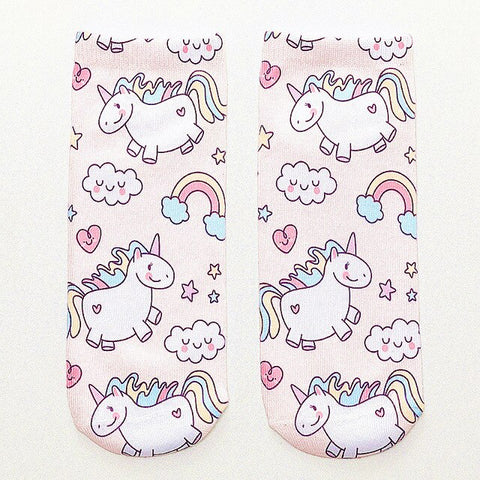 Cloud Unicorn Socks