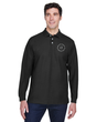 Men's Long Sleeve Pima Pique Polo Shirt