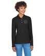 Ladies Long Sleeve Pima Pique Polo Shirt