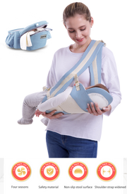 Jubilant Kids Baby Hip Carrier Seater - Light Blue