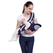 Jubilant Kids Baby Hip Carrier Seater - Navy Blue