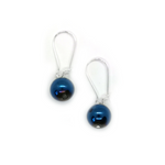 Load image into Gallery viewer, Orb Collection Royal Blue Earrings