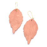 Load image into Gallery viewer, Duilleog Pink Earrings