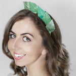 Load image into Gallery viewer, Duilleog Leather Leaf Hairband