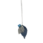 Load image into Gallery viewer, The Duilleog Collection Long Leather Leaf Chain