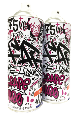 FAR Grape Vape 100mL Spray Can 2-Pack