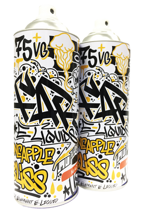 FAR Pineapple Bliss 100mL Spray Can 2-Pack