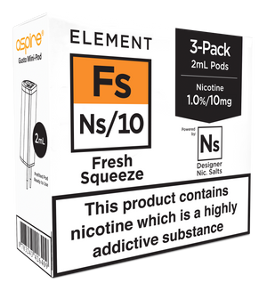 Fresh Squeeze Ns Nic. 3-Pack Pods