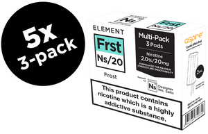 Frost Ns/20 20mg Nic. 5-Pack Pods