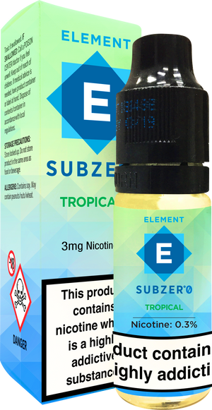 Subzero Tropical Dripper e-Liquid 10mL 10-pack