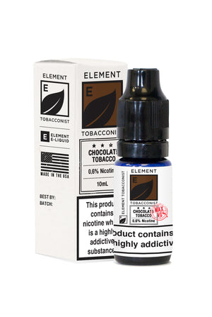 Element Tobacconist Chocolate Dripper e-Liquid 10mL 10-pack