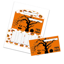 Load image into Gallery viewer, 2020 Halloween Cash Envelopes Horizontal (Set 2)