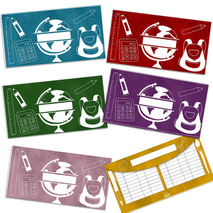 Back To School Cash Envelopes - Horizontal