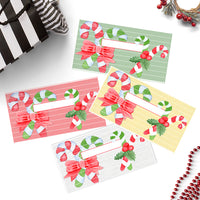 Christmas Candy Cane Cash Envelopes