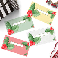 Christmas Holly Cash Envelopes