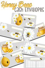 Load image into Gallery viewer, Busy Honey Bees Cash Envelopes