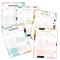 My Daily Planner Planner Printable Sheets