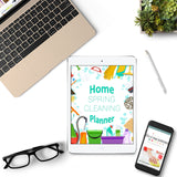 Home Spring Cleaning Planner