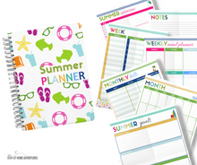 Load image into Gallery viewer, Free Summer Planner Printables