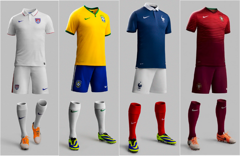 World Cup Official Jerseys