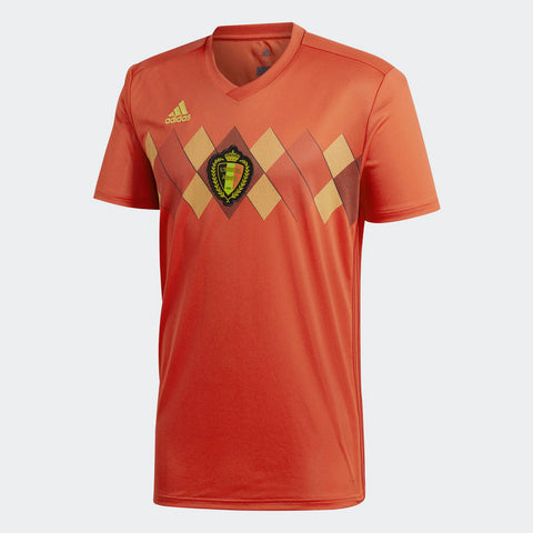 2018 World Cup Authentic Belgium Home Jersey