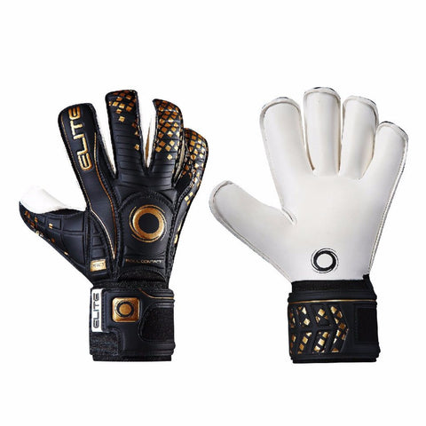 Elite - BLACK REAL GOALKEEPER GLOVES