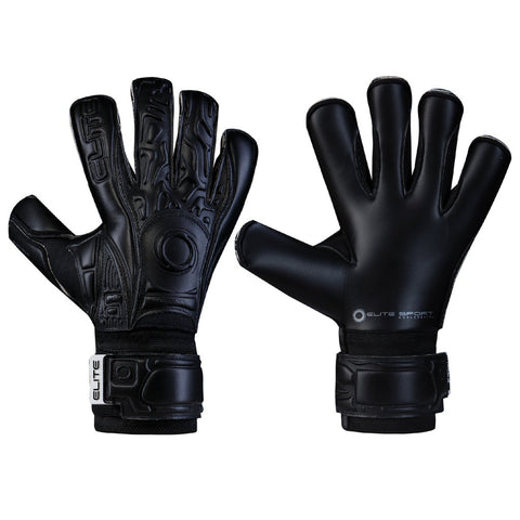 Elite - BLACK SOLO GOALKEEPER GLOVES