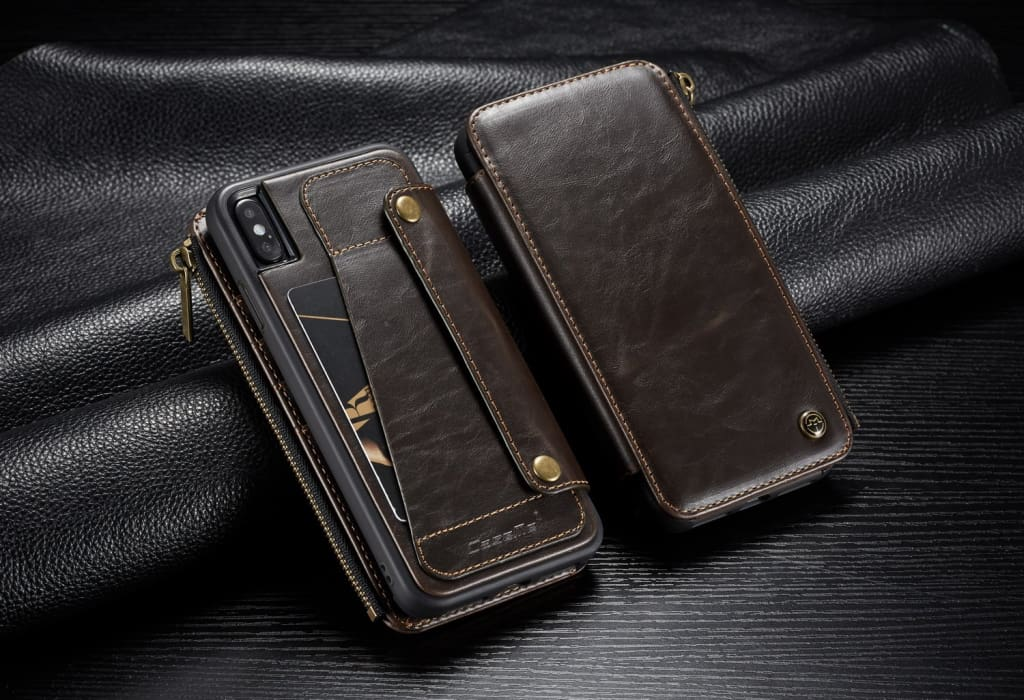 Detachable Multifunctional Leather Case For iPhone