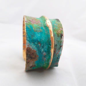 Beautifil patina bracelet