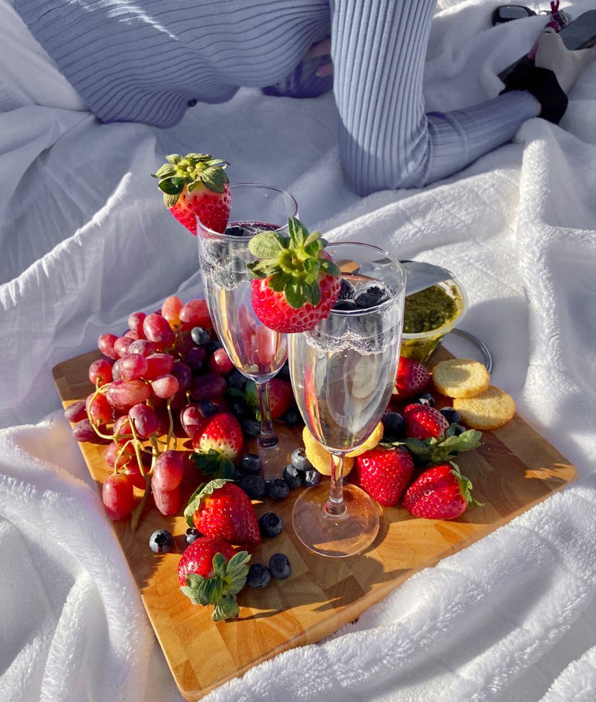 Berries are the perfect picnic fruit