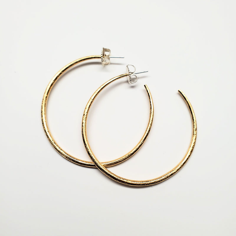 Medium simmer hoop in vermeil