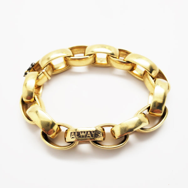 ALWAYS Thai gold link bracelet