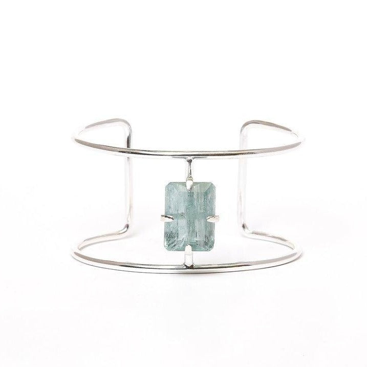 Moss Aquamarine Low Cuff