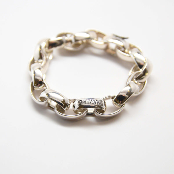 ALWAYS bracelet in sterling silver