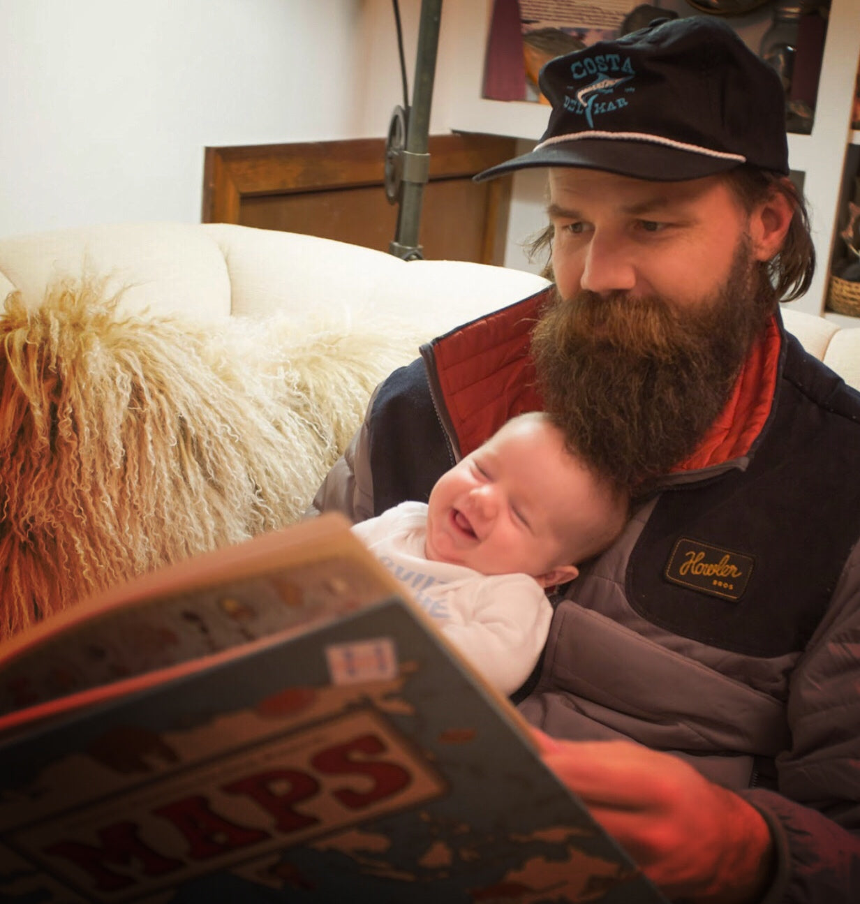 Father's Day with New Dad Oliver White